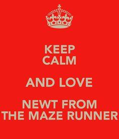 the maze runner newt - Google Search