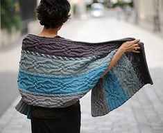 This lush, squishy wrap will make you wish for an endless winter…