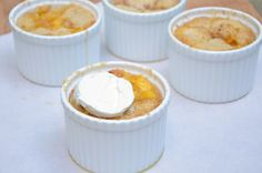 Individual Peach Cobblers from JessicaNWood.com