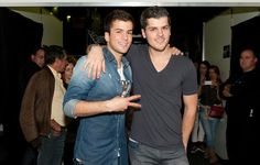 Mickael Carreira and David Carreira