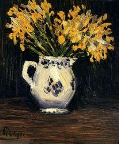 Pablo Picasso:  Lis jaunes (1901)