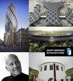 Happy 78th Birthday Sir Norman Foster
