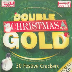 DOUBLE CHRISTMAS GOLD - PROMO 2 CD SET (2004) BING CROSBY, NAT KING COLE ETC #PopRockJazzEasyListeningChristmas