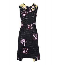 Erdem Sleeveless Floral Dress - Short Dress - ShopBAZAAR