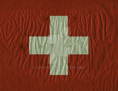 Swiss Flag by https://www.facebook.com/scott.hassler.art   Flag Background #flag #inspired #printable #backgrounds #framing #gift #decor #scrap-booking #crafts #world #state #country #pride #hassified