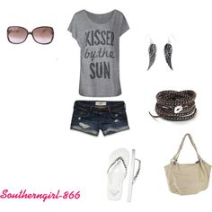 Kissed By The Sun <3, created by southerngirl-866.polyvore.com