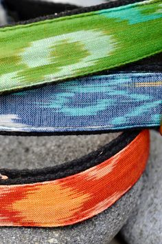 Handmade with love in Bali, made out of traditional Ikat fabric with beautiful patterns Ikat Fabric, Dog Bandana, Beautiful Patterns, Making Out, Bali, Collars, Hand Weaving, Fancy, Traditional