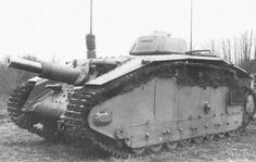ARL 40 - French prototype of heavy assault SPG/tank destroyer. Mass production was supposed to be launched in 1940, but never started due to the occupation of France.