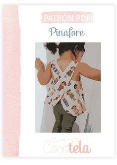 Paso a paso Pinafore. Toddler Fashion, Toddler Outfits, Kids Outfits, Clothing Patterns, Sewing Patterns, Pinafore Pattern, Fashion Bella, Designer Baby Clothes, Make Your Own Clothes
