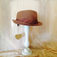 Trilby perfect with jeans & Chunky sweater