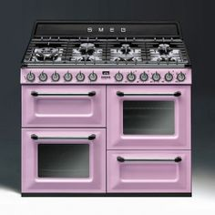 Selina Lake: I Love SMEG! http://www.smeguk.com/ Victoria Range Cooker - Pastel Pink