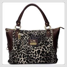 coach coin purse outlet 14iu  Coach Leopard Fur Large Coffee Totes BAJ With High Quality And Fast  Delicery Is Hot Sale