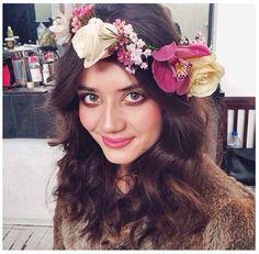 Hair & Makeup for #natalijathelabel Veronika Moreira Makeup Artist #makeupartist #hairstylist #bridalinspiration #florals #flowercrown #boutierregirls
