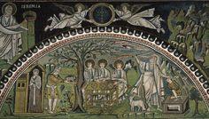 Sacrificio di Isacco, Basilica di San Vitale, 547, Ravena