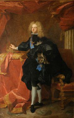 Rey Felipe V de España Rex Philippus V Hispaniae König Philipp V. von Spanien King Philip V of Spain Roi Philippe V d'Espagne  Hyacinthe Rigaud (1659-1743), 1701.