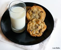 The famous NY Times Best Chocolate Chip Cookie recipe found at 'I Am Baker.'  I made them once, but they weren't perfect, must try a few more times.  Cause the photos make it look so fantastic!  -kwa