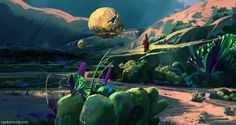 Music of the Spheres II by Kunrong Yap   Fantasy   2D   CGSociety