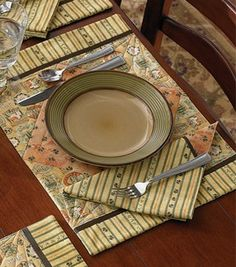 Tuscany quilted placemats.