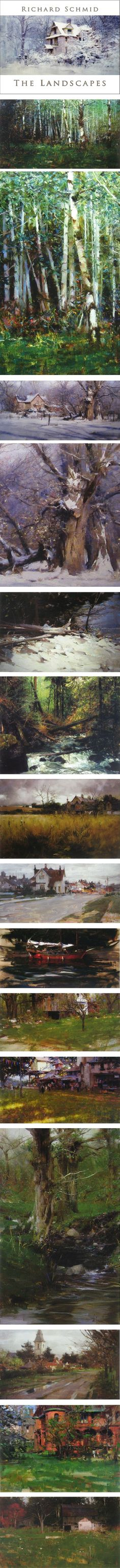 Richard Schmid: The Landscapes | Lines and Colors :: a blog about drawing, painting, illustration, comics, concept art and other visual arts