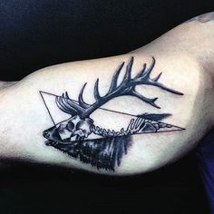 elk skull tattoo tattoos pinterest elk tattoo and tatting rh pinterest com Elk Tattoo Patterns elk skull tattoo meaning