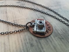 A personal favorite from my Etsy shop https://www.etsy.com/listing/263378183/hand-stamped-pendant-hand-stamped