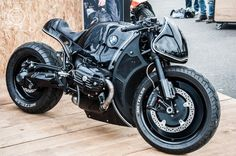 "rhubarbes: "" Cherry's Company – BMW R nineT Highway Fighter. More bikes here. """