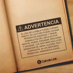Biblioteca de Catholic-Link - ¡Advertencia! La Biblia puede cambiar tu vida