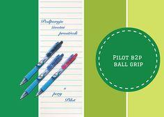 Podporujte životní prostředí s pery #B2PBallGrip! :)