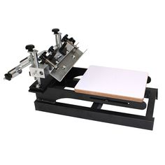 1 Color 3 Station Micro-adjust Screen Printing Press Machine