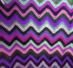 Easy Ripple Afghan Pattern  Kim Blakesley