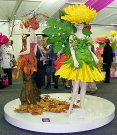 Jenny Gillies Creaciones de Cultivos. Flower fairy costume idea