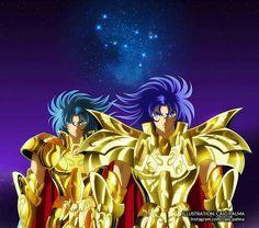 Saga e Kanon De Gêmeos (Gemini no Saga e Kanon)