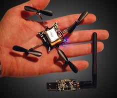 Crazyflie Nano Quadcopter | DudeIWantThat.com