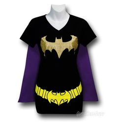 Batgirl t-shirt. With a cape. Why do I not have this yet?