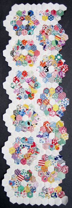 Juliet Taylor made a quilt like this on the sewing machine to prove that it could be done !!!!!