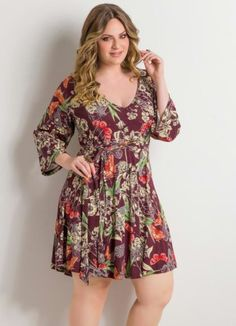modelos de vestidos curtos e soltinhos para gordinhas