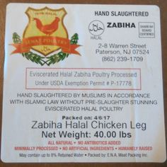 Got Shariah Board NY certified halal chicken for the meat lovers in the fam.  #ShariahBoardNY #ShariahBoardCertified #HumanelyRaised