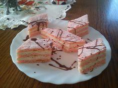 Cake Bars, Hungarian Recipes, Cake Cookies, Tiramisu, Cheesecake, Food And Drink, Sweets, Drinks, Breakfast