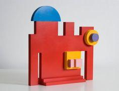 G Schiano Sculpture Sottsass Memphis Milano Nathalie Du Pasquier Michael Graves