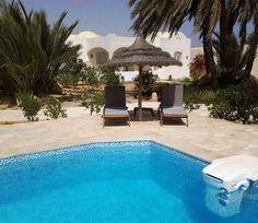 Villa Djerba - locations villas  piscine...circuits & bivouac désert...loisirs