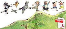 Le petit bonhomme de pain d'épice - la course des personnages Gingerbread Man Activities, Gnomes, Discipline Children, Conte, Crown, Videos, Farmhouse, Gingerbread Man, Characters