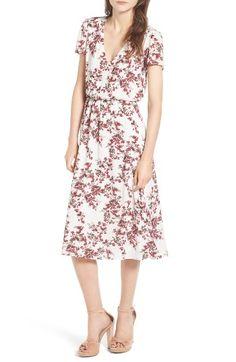 Wayf Blouson Midi Dress | Nordstrom