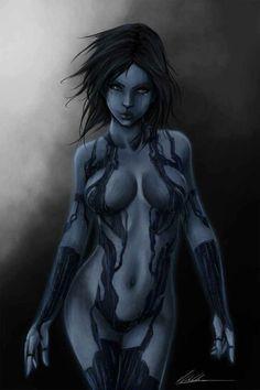 Cortana Fan Art