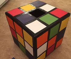 Rubik's Cube Valentine Box - Rubik's Cube Valentine Box - Valentine Boxes For School, Valentines For Boys, Valentines Day Party, Valentine Day Crafts, Holiday Crafts, Valentine Ideas, Printable Valentine, Homemade Valentines, Valentine Wreath
