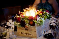 wine themed centerpieces | Wine Wedding Theme Centerpiece | My dream wedding