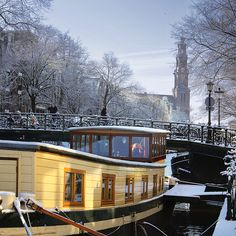 Best view on the Westerkerk from the houseboats | Flickr - Photo Sharing!