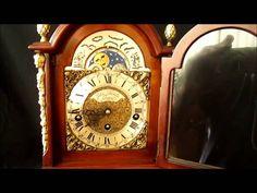 Beautiful English Westminster 8 Day Nut Wood Bracket Clock With Moon Phase http://www.ebay.co.uk/itm/390734637383?ssPageName=STRK:MESELX:IT&_trksid=p3984.m1558.l2649