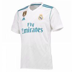 Real Madrid Home Shirt 2017/18.