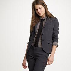 Monochromatic office look @jcrew  #womensfashion  http://www.roehampton-online.com/?ref=4231900