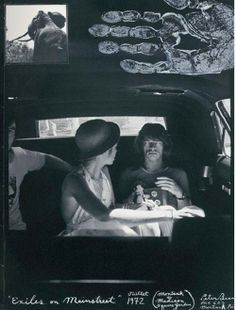 "Bianca and mick jagger photographed in 1972 by peter beard during the rolling stones' ""exile on main street"" tour. Peter Beard, Bianca Jagger, Mick Jagger, She's A Rainbow, Beard Art, Singer One, Famous Couples, Portraits, Bruce Springsteen"